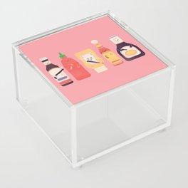 Ex-Condiments Acrylic Box