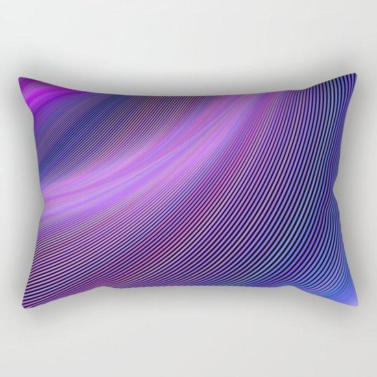 Purple storm Rectangular Pillow