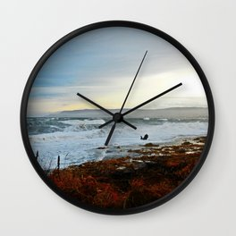 Sainte-Anne-Des-Monts and the Surf Wall Clock