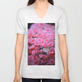 Pink Coral Unisex V-Neck