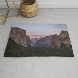 Sunset on Tunnel View Rug