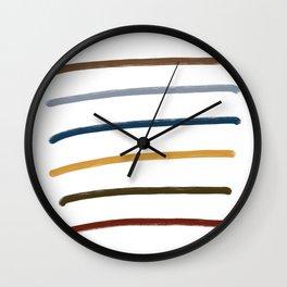 Fall Shade Wall Clock