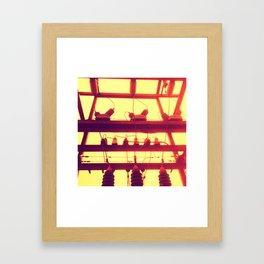 volt Framed Art Print