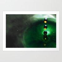 Splash #3 Art Print