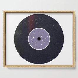 Vinyl Record Star Sign Art | Sagittarius Serving Tray