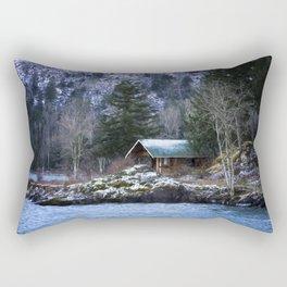 Landscape Art - Get Away From It All Rectangular Pillow