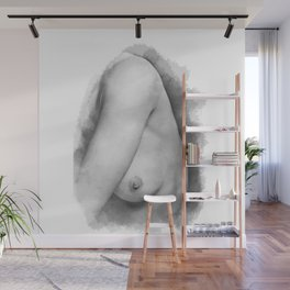 Nude Nipple Wall Mural