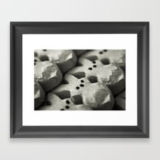 Peep Framed Art Print