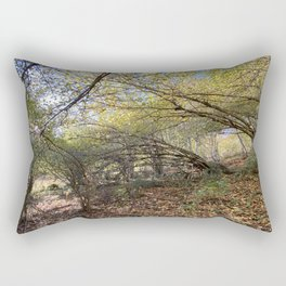 Fall in the Pyrenean forest Rectangular Pillow