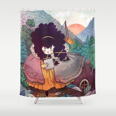 Sisters 2/5 Shower Curtain