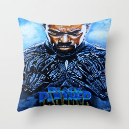 Black Panther Merchandise Throw Pillow