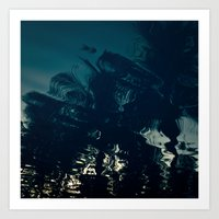 palms Art Prints featuring Palms by CloudedSunset