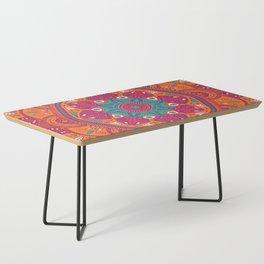 Colorful Mandala Pattern 017 Coffee Table