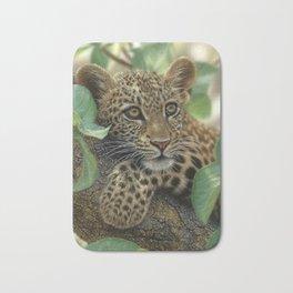 Leopard Cub - Tree Hugger Bath Mat