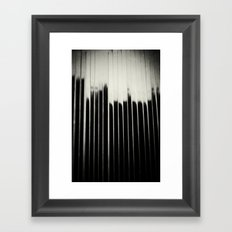 STEEL & MILK Framed Art Print