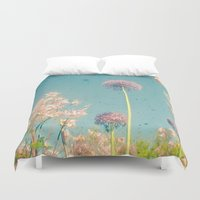 garden Duvet Covers featuring Garden by Cassia Beck