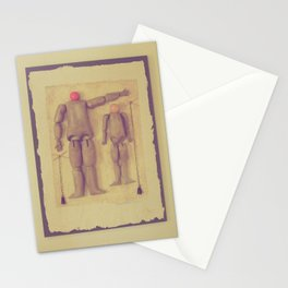 Dad's Puppets Stationery Cards