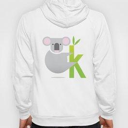 K for Koala Hoody
