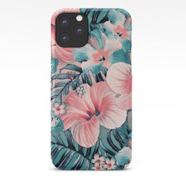 Vintage Jade Coral Aloha iPhone Case