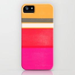 stripe study 1 iPhone Case