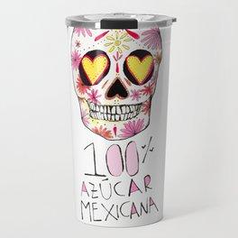 100% azucar mexicana Travel Mug
