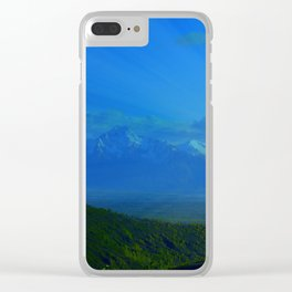 Valley Burst Clear iPhone Case