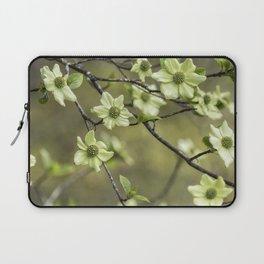 Green Kousa Dogwood Laptop Sleeve