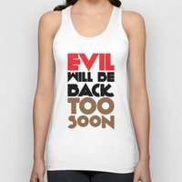 evil Tank Tops featuring Evil by neil parrish