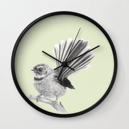 Piwakawaka   NZ Fantail Wall Clock