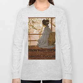 Vintage poster - Madama Butterfly Long Sleeve T-shirt
