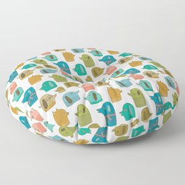 Pattern Project / Dogs Floor Pillow