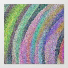 Color Arc Number Two Canvas Print