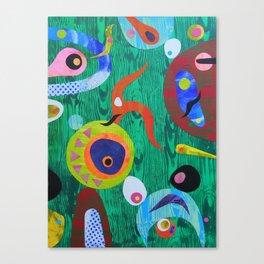 Green Zambezi Canvas Print