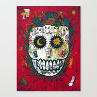 tequila Canvas Prints featuring Tequila by Jorge Garza