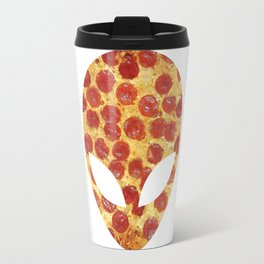 We Come in Pizza Travel Mug