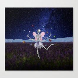 The Death Fairy Canvas Print