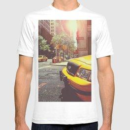 NYC Taxi Cab T-shirt