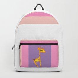 Skipping Giraffe Backpack