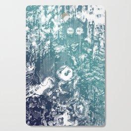 Inky Shadows - Blue edition Cutting Board