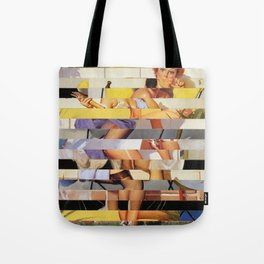 Glitch Pin-Up Redux: Isabella Tote Bag