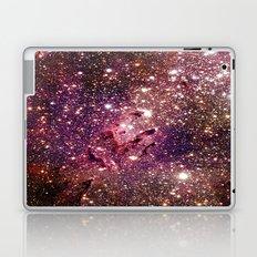 Galaxy : Coral Gold Eagle Nebula Laptop & iPad Skin