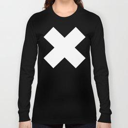 X WHITE Long Sleeve T-shirt