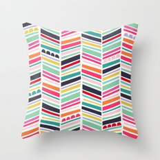 color me happy Throw Pillow