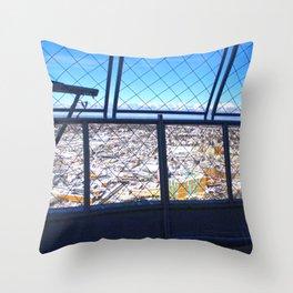 The Niagara Falls town Throw Pillow