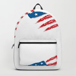 4th July Independence Day (white). Independence Day 4 July Backpack