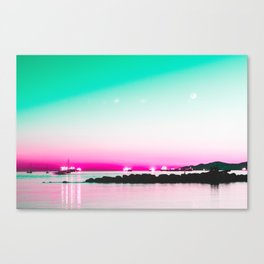 The Pink Hour Canvas Print