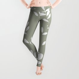 Let it bloom with tulips, floral pattern design Leggings