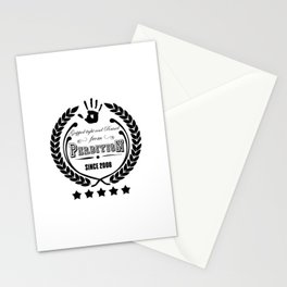 Gripped Tight and Raised from Perdition, since 2008 Stationery Cards