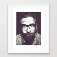 dallas Framed Art Prints featuring Dallas by Kristiana Rose Vellucci