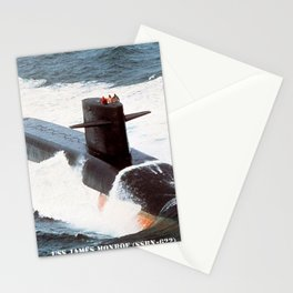 USS JAMES MONROE (SSBN-622) Stationery Cards